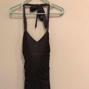 Bebe Little Black Halter Dress